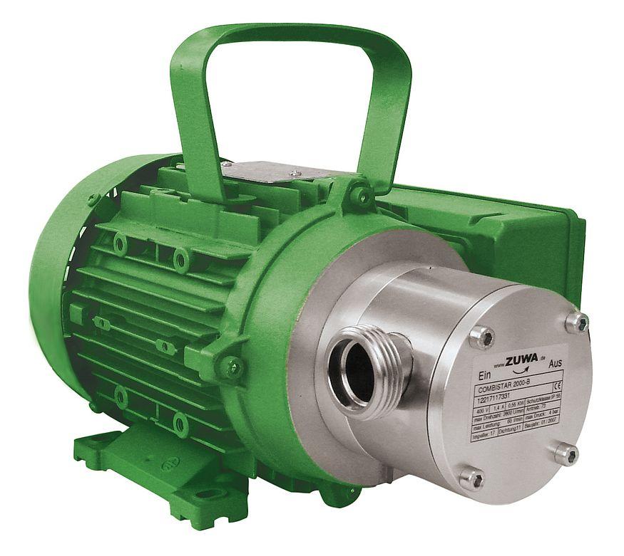 directly flanged Impeller Pump Zuwa Combistar