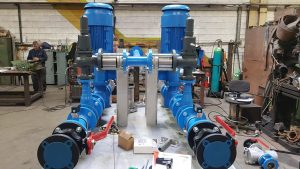 Duplex Fuel Skids Positive Displacement Pumps using Viking Pump by Thomson Process Equipment and Engineering Ltd Ireland